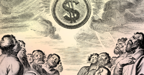 God, Man & Mammon: MONEY IS THE SECULAR GOD